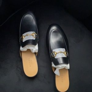 NWT Gucci Princetown Loafer Mule